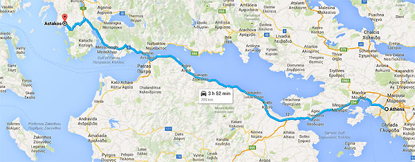 How to get there - ithaca greece, ferries, buses timetables  Travel