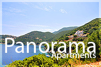Panorama apartments near kioni ithaki