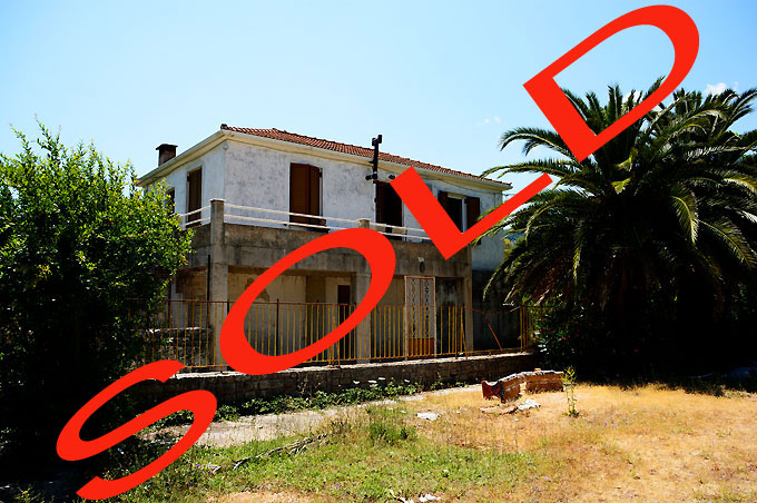 Renovation Project House for sale on the Greek Island of